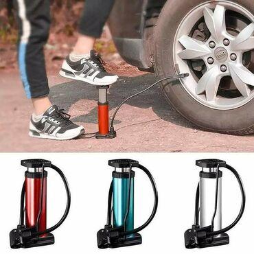 Vozila - Srbija: Mini nožna pumpa za bicikle, auto gume, lopte i dušeke 1150 rsdMini