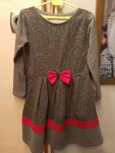 Prelepa haljina vel 4 samo jednom obucena za rodjendan - Arandjelovac