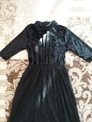 черное платье турция в Кыргызстан: Платье размер 42. Одевала 1 раз. Турция