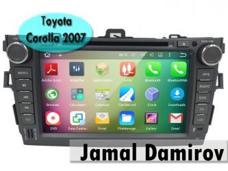 Bakı şəhərində Toyota Corolla 2007 üçün DVD-monitor,