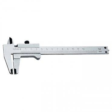 Штангенциркуль, 125 мм, цена деления 0,1 мм, класс 2, ГОСТ 166-89