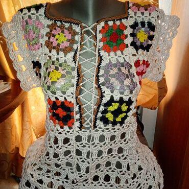 Košulje i bluze | Sokobanja: Tunika od pamucnog konca Ručni rad