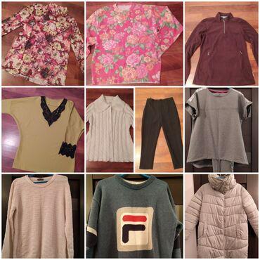 Разгружаю гардероб, много разной женской одежды на 42-44-46. Кофты