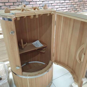 Sauna ev ücün. 1 kw lıq tenlə calışır. super efekti var. 15 dəyqalıq s