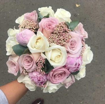 Свадебные букеты любой сложности !!! в Бишкек