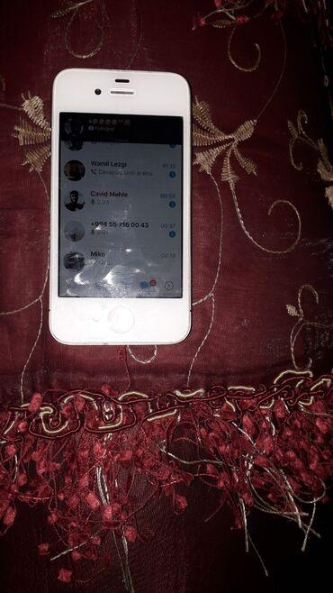 apple 4s - Azərbaycan: Telfon alnandan az iwdenib idyal vezyededi usda yaninda olmayib super