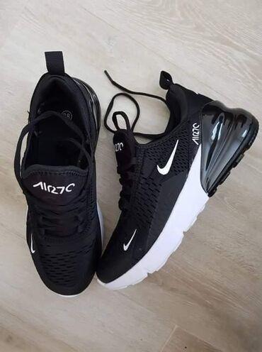 Ženska obuća | Majdanpek: Nike 270, crne Brojevi od 36 do 41 Cena: 2800