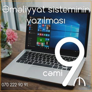 Bakı şəhərində Kompüterlərə əməliyyat sisteminin yazılması (format).