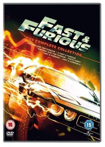 PAKLENE ULICE [Fast and Furious] KOLEKCIJA - Svih 7 filmova Paket - Boljevac