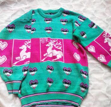 детские вещи с в Кыргызстан: Детская кофта с оленятами советского качества,отличное состояние.Цена