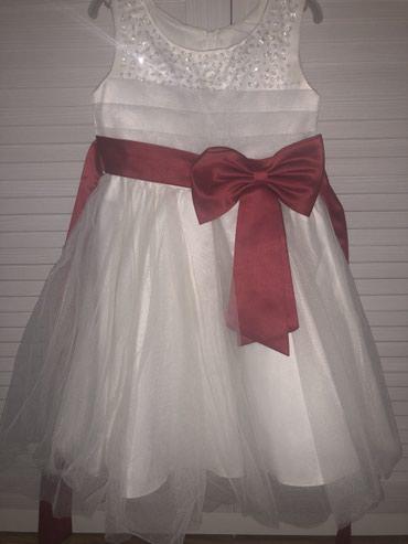 Платье на 6 лет , одевали пару раз. Состояние отличное в Бишкек