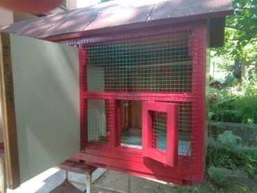 Ostali kućni ljubimci i životinje | Srbija: Duzina 1386Sirina 470Visina 720Krov pokriven tegulomKavez ima dve