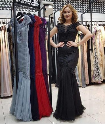 Платья - Лебединовка: Шикарное платье размер 46-48 надевала лишь раз на вечер