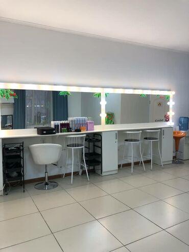 виза в великобританию в Кыргызстан: Сдаются места для бьюти мастеров  -визажное зеркала  Район Вефа центр