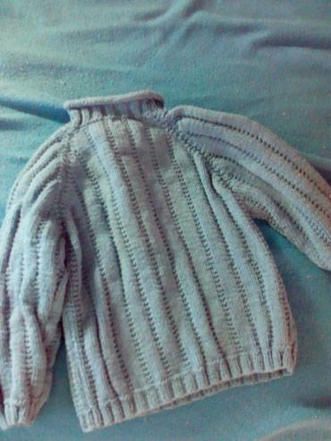 Deciji dzemper pleten. za uzrast 2 ili 3 godine. koriscenje lepo - Subotica