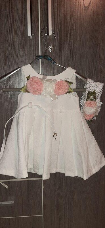 Детский мир - Новопавловка: Платье с Турции нарядное,состояние хорошее на год,два,за 250 сом