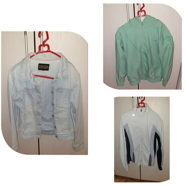 Duks sve velicine - Srbija: 3 ORIGINAL STVARI kao nove, 2 duksa na raskopcavanje i tekses jaknica