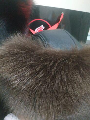 ортофосфорная кислота бишкек in Кыргызстан | САНТЕХНИКТЕР: Меховая-кожаная шапка очень теплая сшито на заказ, не разу не