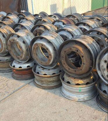 декоративные наволочки лен в Кыргызстан: Срочно продам диски грузовые 22.5 есть 8шт. Стояли на Вольво и Рено