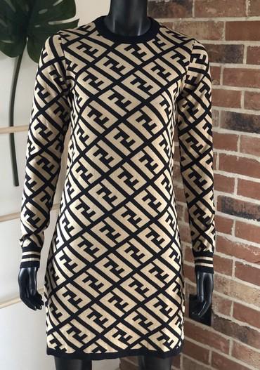 Fendi haljina, pamuk 100% po velicinama.  M velicina  - Belgrade
