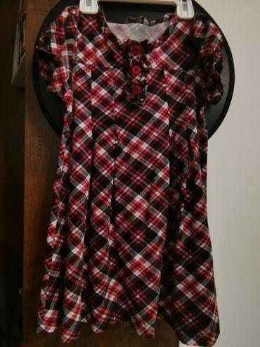 Dečija odeća i obuća - Smederevska Palanka: Lindex karirana haljina, vel 104Prelepa, jedan od najboljih pamuka