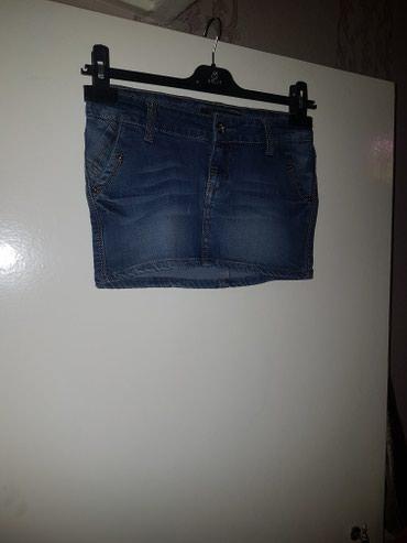 Джинсовая мини юбка, размер 25 в Бишкек
