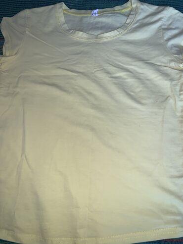 Продаю футболку300 сом Размер:стандарт Цвет:желтыйОбращаться по