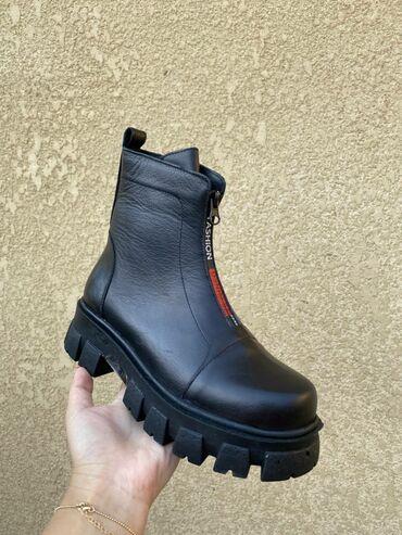 инверсионные ботинки бишкек in Кыргызстан   ГРУЗОВЫЕ ПЕРЕВОЗКИ: Деми сезонный ботинки из натуральной кожи производство Турция