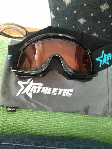Rukavice za skijanje - Beograd: Naocare za skijanje athletic nove,bez ostecenja