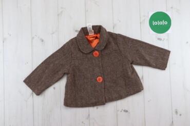 Дитяче пальто Mini Mode, вік: 6-9м., зріст: 68-74 см    Довжина: 30 см