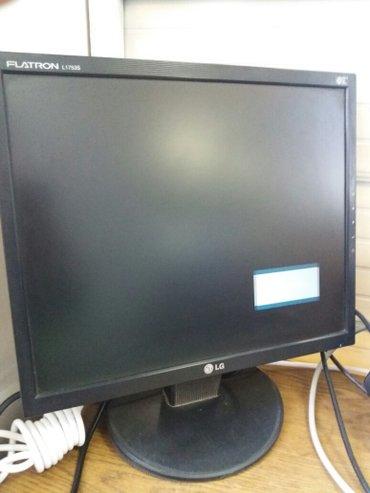 продаю монитор 17 дюйм лсд состояние отличное в Бишкек