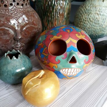 184 объявлений: Продаю ночник из керамики с авторской росписью. Эксклюзивные сувениры