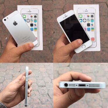 iphone 5 c в Азербайджан: Б/У iPhone 5s 16 ГБ Белый