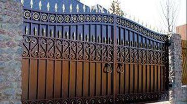 Другие строительные материалы - Кыргызстан: Кованные ворота, бронированные двери. С полимерно порошковой