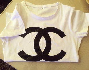 Bela chanel majica, nova... 💋 vel ide m/l - Vranje