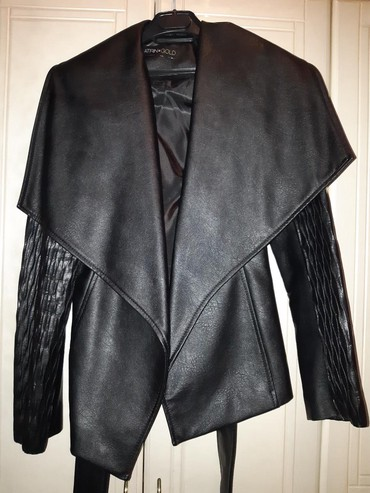 Od-skaja - Srbija: Ketrin elegantna sako- jaknica od skaja obucena samo jednom. Ne kopca