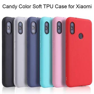 Örtüklər - Azərbaycan: Xiaomi Mi A2 lite selikon arxaliq.Yeni gelib. Qırmızı rengidir. Diğer