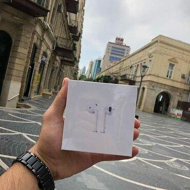 AİRPODS 2 a klass Wireless şarj  Buyurub Sifariş verə bilərsiniz. HƏM