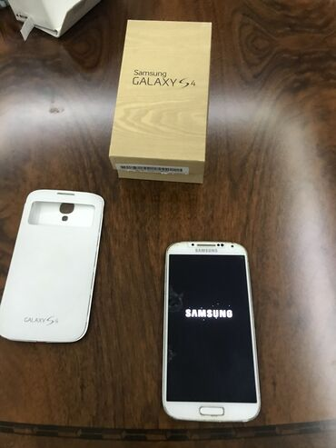 Samsung galaxy s4 mini - Азербайджан: Б/у Samsung Galaxy S4 Белый