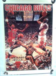 Chicago bulls - Srbija: Prodajem poster sa slike, dimenzije 55 cm x 40 cm, u veoma dobrom