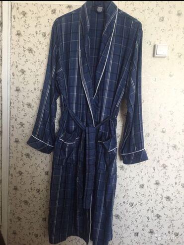Мужской новый халат. Хлопок+ бамбук, легкий и тёплый. Турция. Можно на
