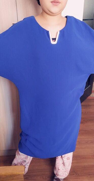 блины в Кыргызстан: Платье . Размер 48-50. Одевали один раз. Летучая мышь. Блина колено