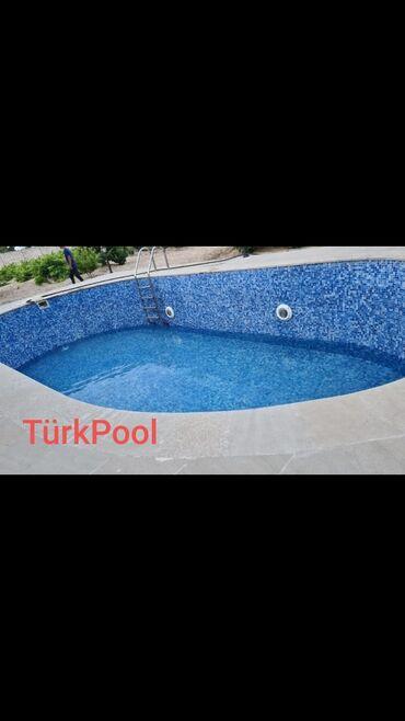 Tikinti və təmir - Azərbaycan: Hovuzlar | Zəmanət, Kredit, Dizayn, İzolyasiya, Mozaika, Fontan, Filter quraşdırılması