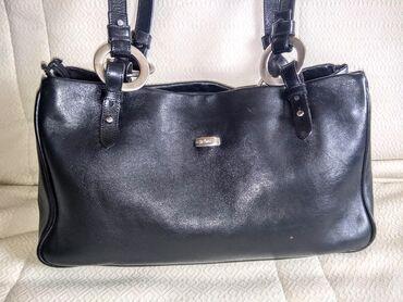 Manual torba - Srbija: Manual kozna torba kao nova MANUAL vrhunska torba, od najfinije kvalit