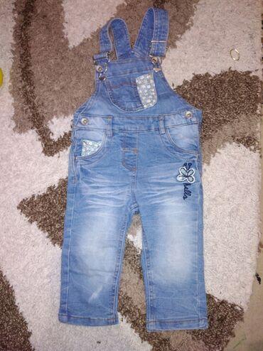 Dečija odeća i obuća - Plandište: Top mini farmerkice velicina 74
