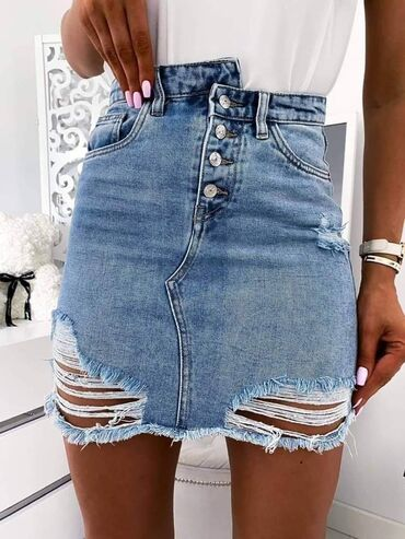 Teksas suknja Xs s m l xl Cena: 2300 din