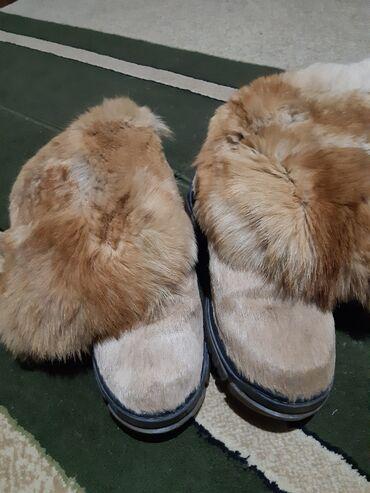 теплые унты в Кыргызстан: Унты натуральные меха олени и лисы 45размер очень тёплые почти новые