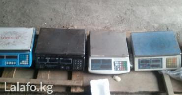 Весы электронные 4 шт не знаю рабочие в Бишкек