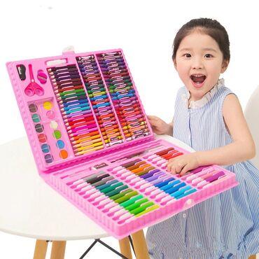150 предметов. Подарок малышу. Набор юного художника. Все для