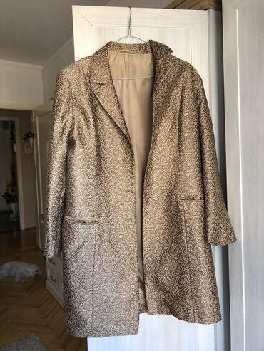 Zenski mantili - Srbija: PREDIVAN zenski mantil, JEDNOM OBUCEN. XL velicina. Kupljen je u